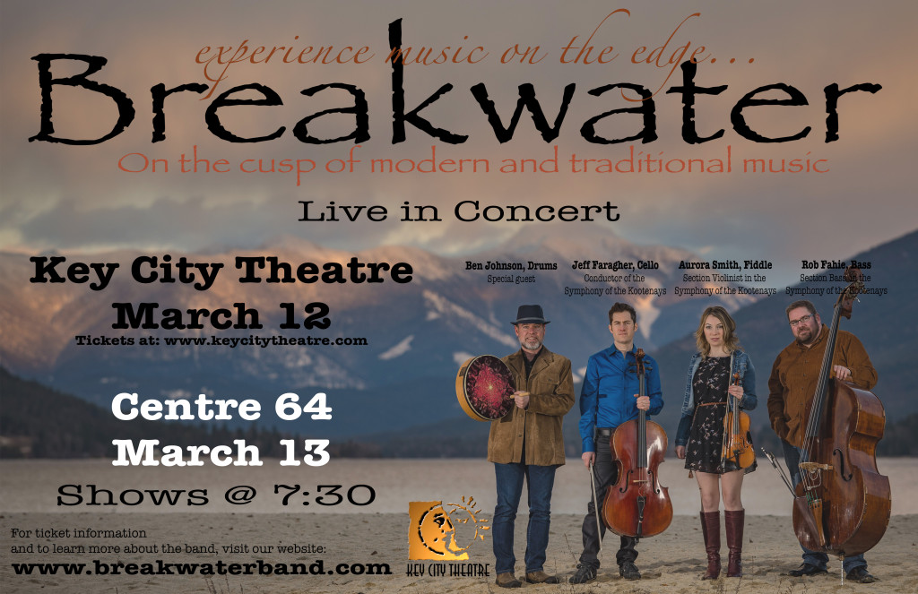 Breakwater March 2016 Cranbrook Poster
