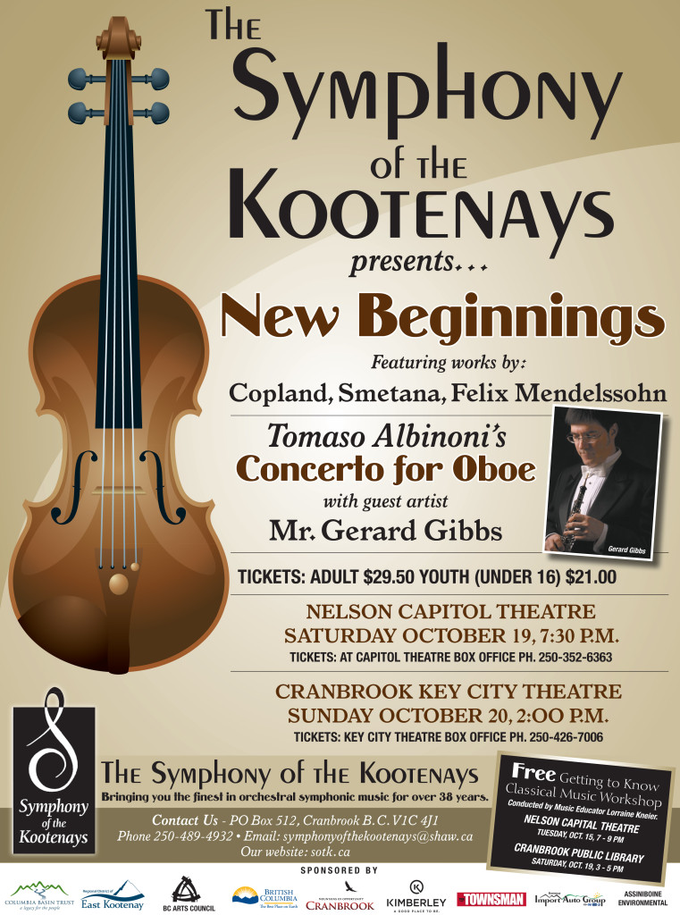 Symphony of the Kootenays New Beginnings TB 09