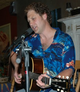 Garnet Waite at the Bean Tree - August 2006