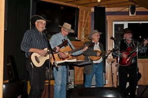 Tuckers Troubadours: Larry Tucker, Doug Simpson, Dave Carlson & Bud Decose
