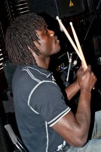 """""""P.J."""" THE PEAKS new drummer"""