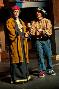 Shylock and Bassanio