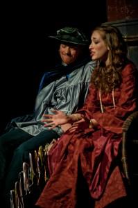 Lorenzo (Graham McBean) and Jessica (Danielle Nicholson)