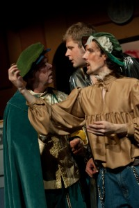 Antonio, Gratiano, and Bassanio