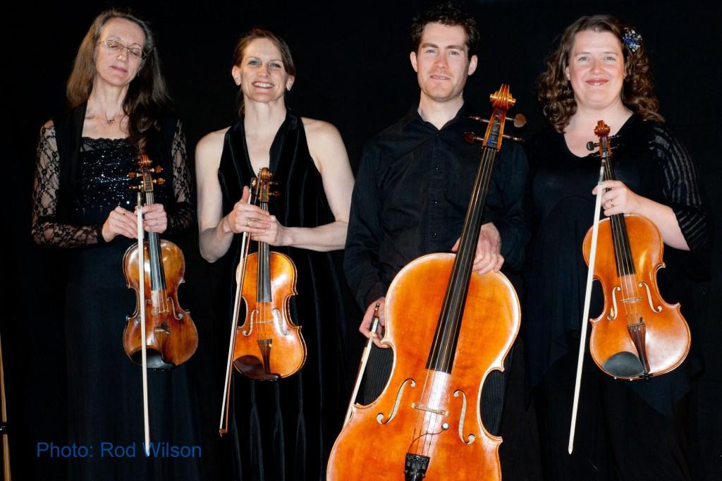 La Cafamore String Quartet - Angela Synde, Carolyn Cameron, Jeff Faragher, Alexis Moore