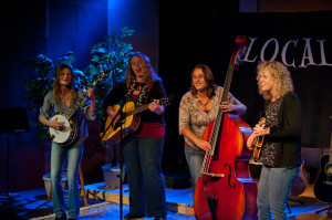 The Rosie Brown Band - Paige, Cosima, Janice and Shauna