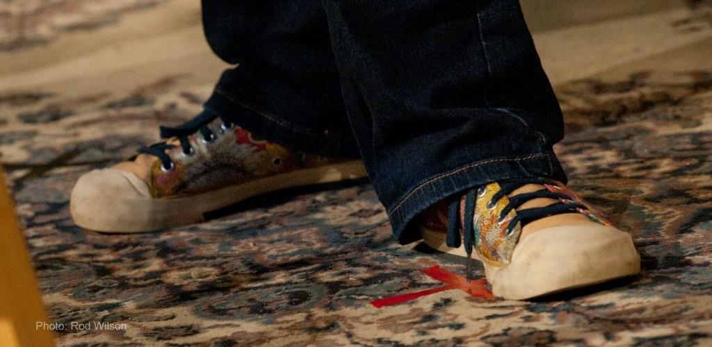 Krista's feet