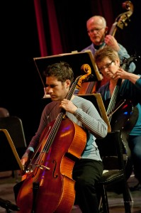 Cellos and Bass