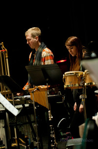 Percussion - Sven Heyde and Courtney Crawford