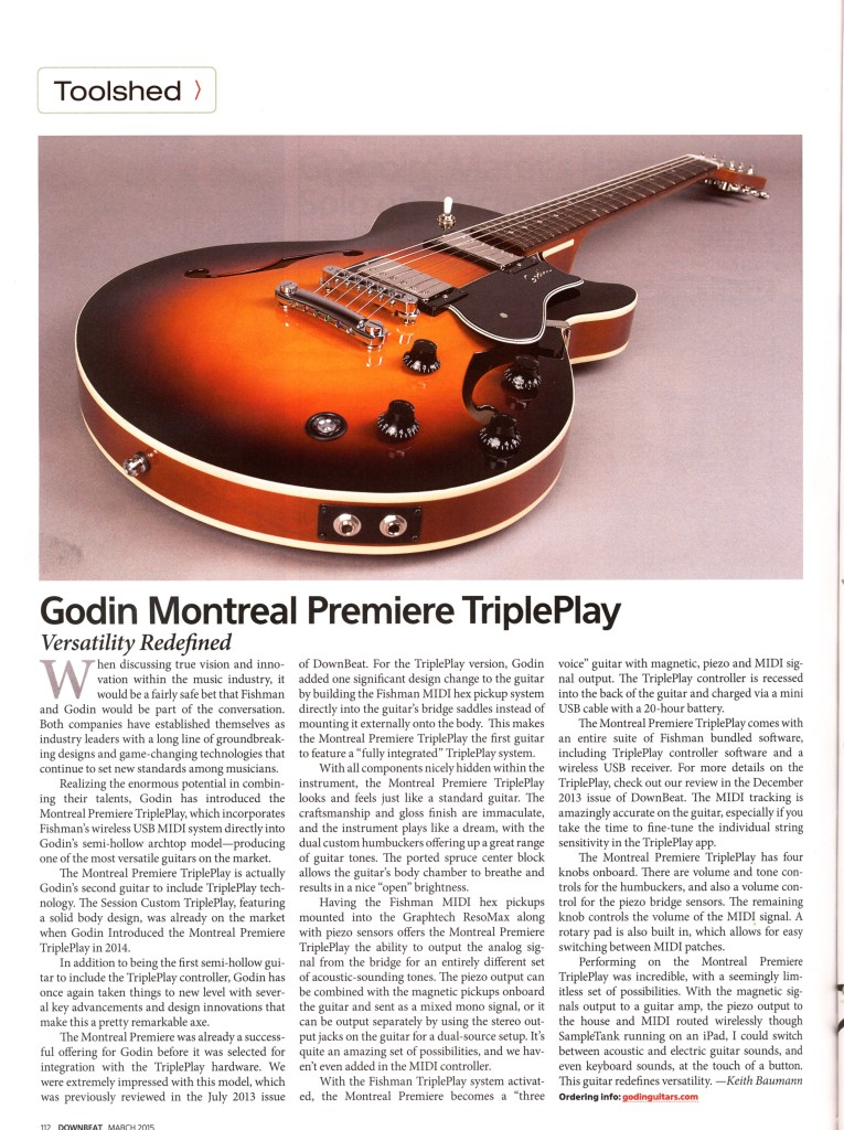GODIN SYNTH GUITAR