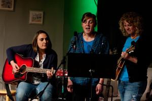 Janice Nicli, Meghan and Shawna Plant