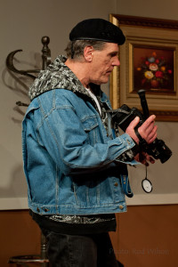 Cameraman Alex Tratt played by Bob Wakulich